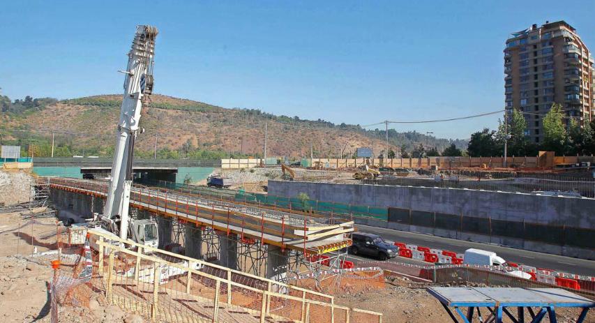 instalacion puente avenida kennedy