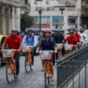 inauguracion bicicletas publicas comuna santiago