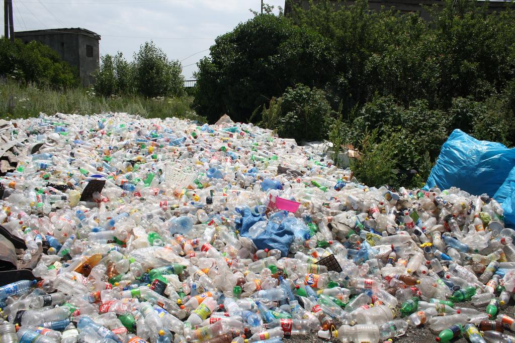 """Banco de Plástico"""" Las ganancias sociales del reciclaje del"""