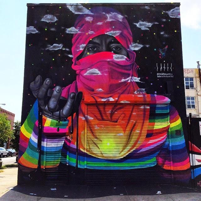 """""""Mano de Protesta"""" en Brooklyn, Nueva York."""