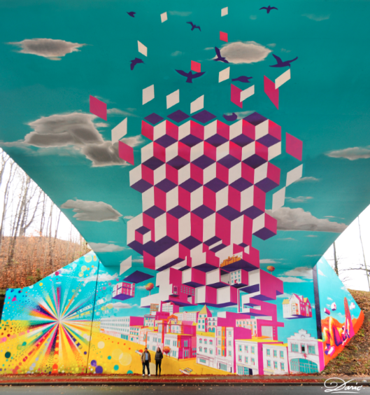 """Underpass Illusion"", Nueva York."