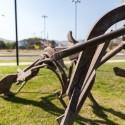 Escultura Tim Scott en La Dehesa por Andrea Manuschevich para Plataforma Urbana 2