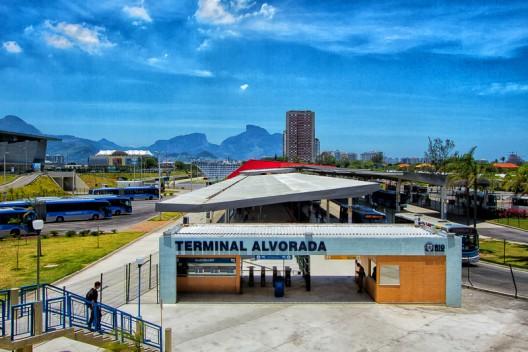 Estación de BRT de Transcarioca, Río de Janeiro. © PAC 2, vía Flickr.