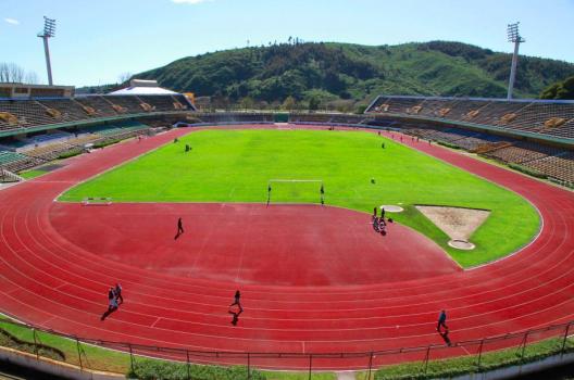 Estadio Ester Roa Rebolledo, Concepción. © Rodrigo Acuña D.