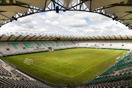 Estadio Municipal de Temuco. © Andrea Manuschevich para Plataforma Urbana