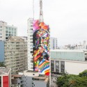 mural de niemeyer en sao paulo por eduardo kobra via facebook