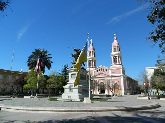 Plaza de Los Héroes, Rancagua. © Vessna, vía Wikimedia Commons