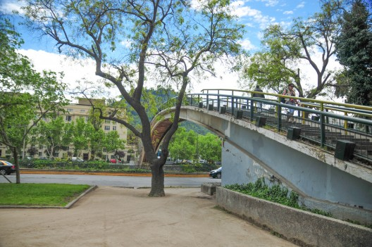 Puente Racamalac, Providencia. © Teresita Pérez para Plataforma Urbana