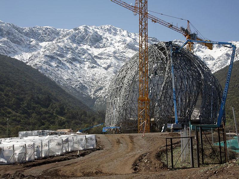 Templo bahai en santiago de for Construccion de piscinas santiago chile
