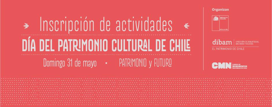 afiche convocatoria inscripcion actividades dia del patrimonio 2015