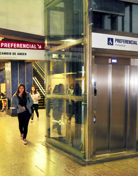 ascensores metro santiago