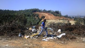 basura cerros valparaiso