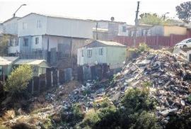 Basura en Valparaíso
