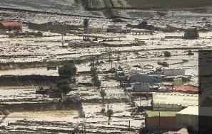 aluvion chanaral region de atacama