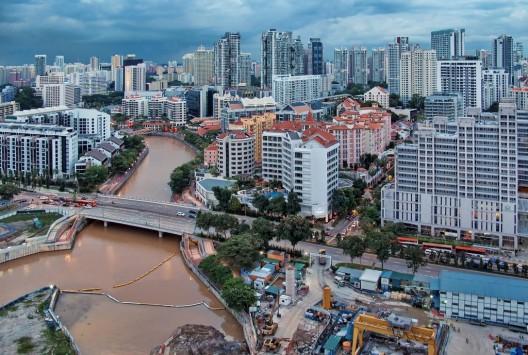 Ciudad de Singapur. © williamcho, vía Flickr.