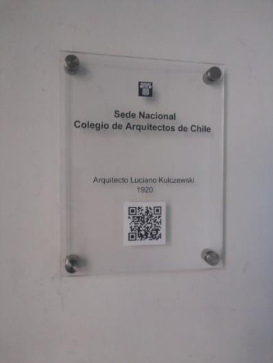 codigo qr colegio de arquitectos de chile