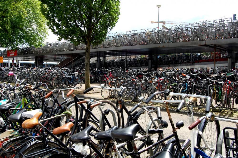 Amsterdam, Países Bajos. © loungerie, vía Flickr.