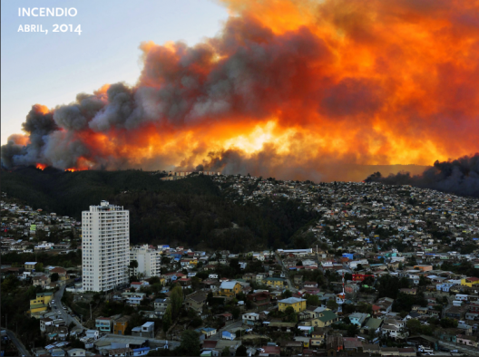 Incendio de Valparaíso, Abril de 2014