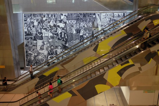 Metro Ciudad de Singapur. © Jnzl's Public Domain Photos, vía Flickr.
