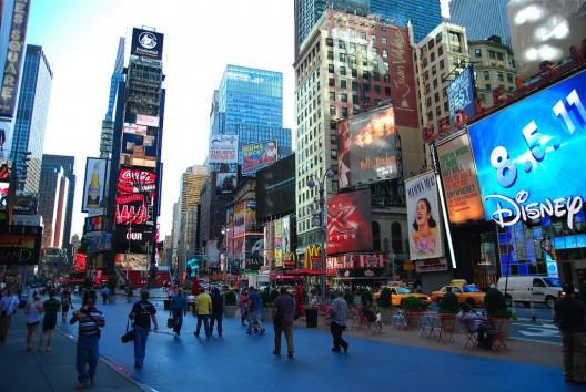Times Square, Nueva York. © J.RISTANIEMI, vía Flickr.