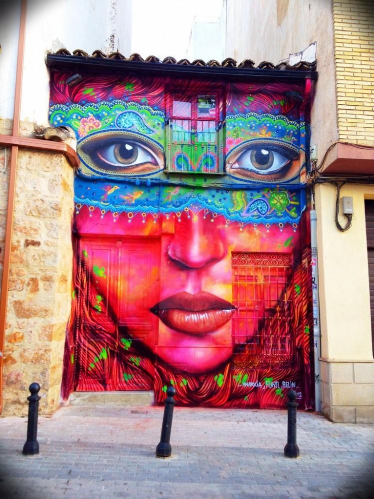 por Anarkia, Flantl y Belin en Linares Espana