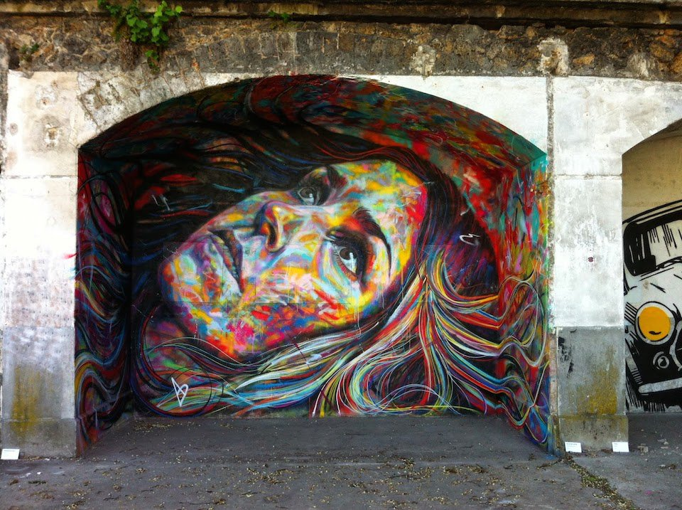 por David Walker en el Festival de Arte IN SITU en Aubervilliers Francia