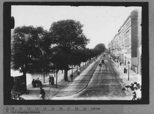 Primera ciclovía en Copenhague. © Mikael Colville-Andersen, vía Flickr.