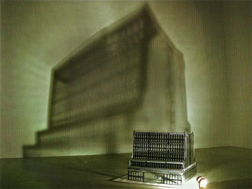 Diorama- Caja de Luz / Edificio INP, Concepción