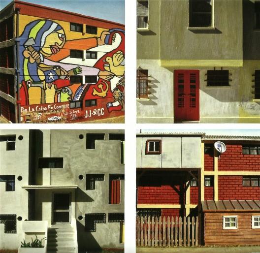Maquetas fachadas Vivienda social, VIEXPO (2007)