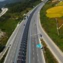 bicipista ciclovia solar en corea del sur