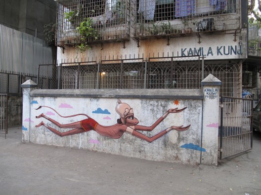 Bombay India por sethglobepainter via flickr