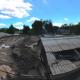Sector de Paipote, punto dónde las colapsadas obras hidráulicas conectan las aguas cordilleranas con el lecho del Río Copiapó. Fuente Camilo Prats @TerritoryFILMS .