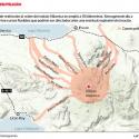 zonas de riesgo volvan villarrica region de la araucania