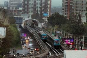 transporte publico santiago