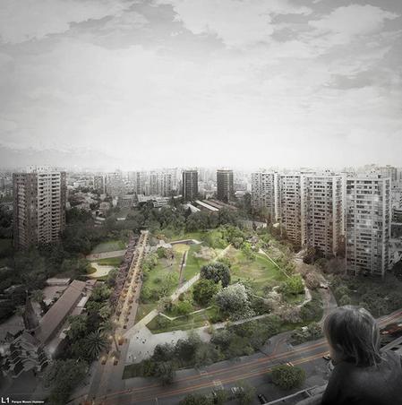 proyecto museo humano parque san borja santiago