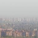 contaminación santiago