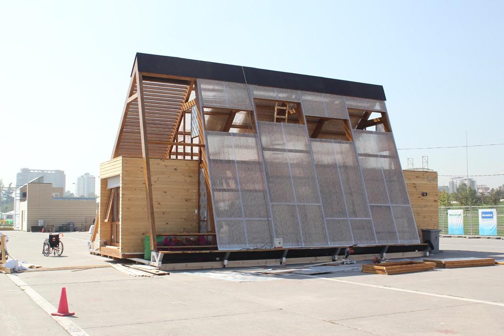 Casa atrapa lluvia foto por construye solar via plataforma for Plataforma arquitectura