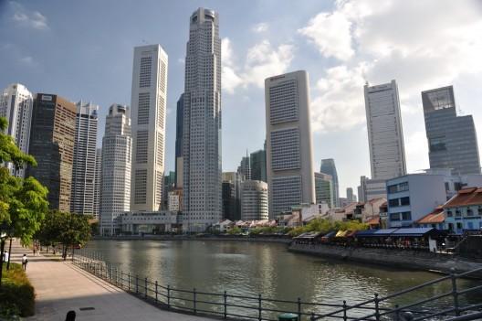 Ciudad de Singapur. © Mulberry Leaves, vía Flickr.