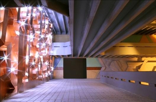 Estación Gabriela Mistral - Detalle interior