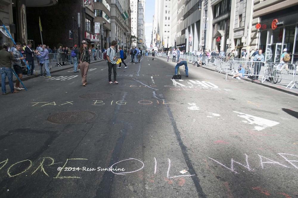 Flood Wall Street, Nueva York. © Resa Sunshine, vía Flickr.