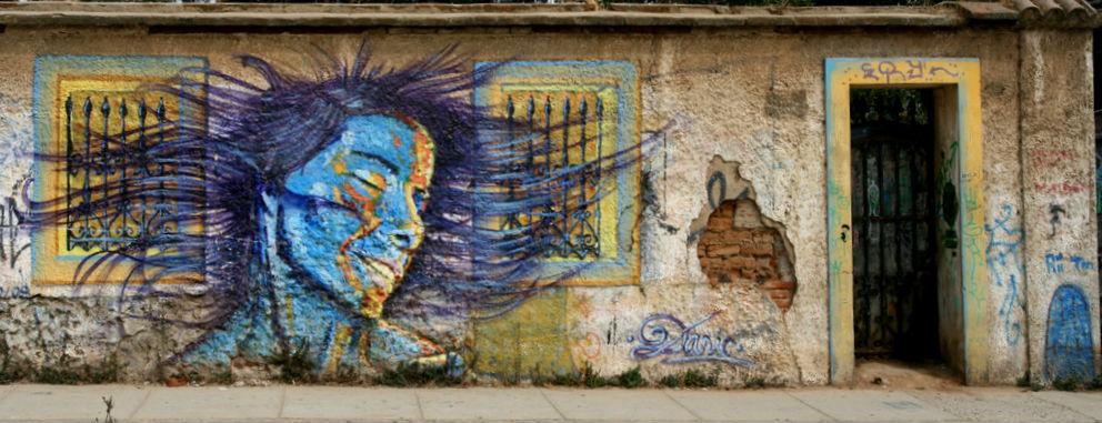 Mural de Dasic Fernández en Cerro © Richard Lehoux, vía Flickr.