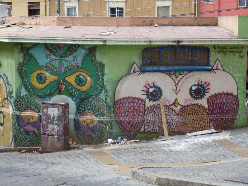 mural en valparaiso por mark 75 via flickr