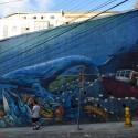 mural en valparaiso por Xiaozhuli via flickr