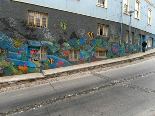 murales en valparaiso por Trudy Veitch(By the Bay Gal) via flickr