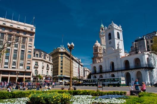 Plaza de Mayo, Buenos Aires. © David Baggins, vía Flickr.
