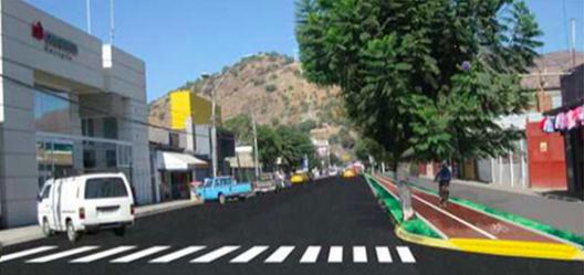 Proyecto Boulevard Avenida Latorre en La Calera. Fuente imagen: fotoquinta.cl