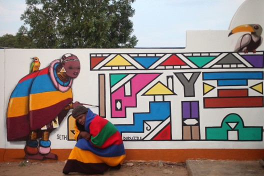 Seth cn Duduzile en Mabhoko Sudáfrica via Seht Globepainter en flickr