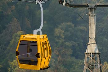 teleferico amarillo