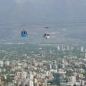 Foto del Teleférico de Santiago tomada en 2008. ©  alobos Life, vía Flickr.