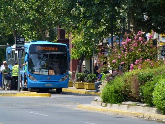 Transantiago. © RiveraNotario, vía Flickr.